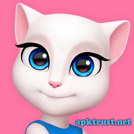 لعبة My Talking Angela مهكرة