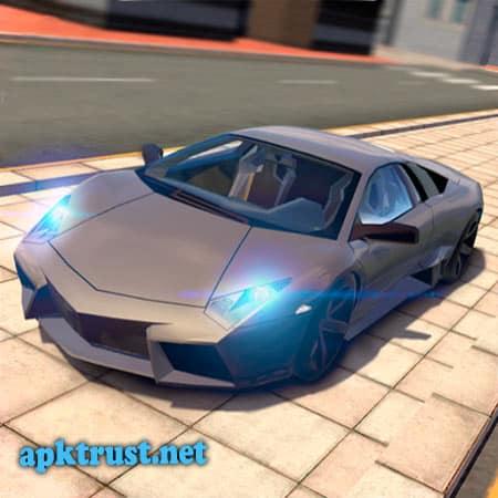 لعبة Extreme Car Driving Simulator المتطرفة محاكاة قيادة السيارات مهكرة للاندرويد
