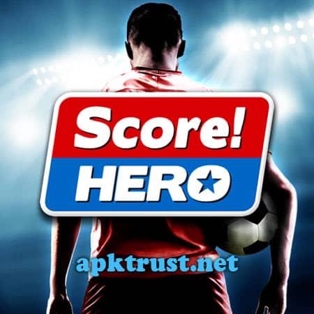 تحميل سكور هيرو مهكرة للاندرويد Score Hero v1.70 Mod APK